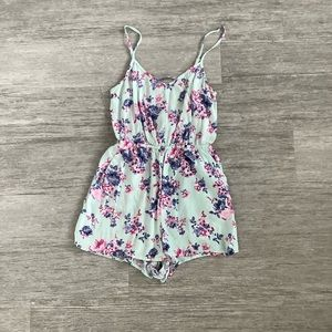 Floral Mint Green Romper from H&M